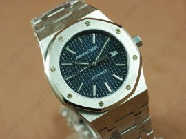 オーデマ・ピゲAudemars Piguet Royal Oak Jumbo 39mm SS/SS Blue Swiss Eta 2824-2自動巻き