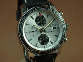 ショパールChopard watches Mile Miglia Chrono Grand Prix Ed SS/LE Wht A-7750腕時計