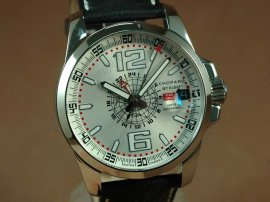 ショパールChopard watches Mile Milgia GT GMT SS/LE Grey A23J自動巻