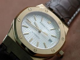 オーデマ・ピゲAudemars Piguet Royal Oak Jumbo 39mm FG/LE White Swiss Eta 2824自動巻き