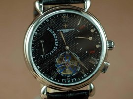 ヴァシュロンコンスタンタン Vacheron Constantin Watches SS Case Black Dial, Blue Seconds Automatic