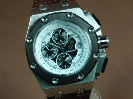 オーデマ・ピゲAudemars Piguet Watches Ruben Baracello Limited ED SS/RU Black Sub A-7750自動巻き