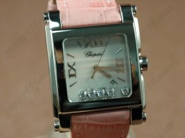 ショパールChopard Las Strada Ladies SS White時計