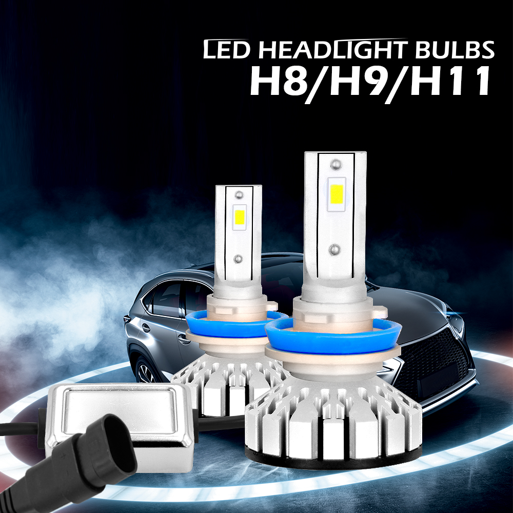 Diesel AutoZone Led Headlight Conversion Kit w/Philips Chips-8000LM 80W  6000K Cool White 12V Led Bulbs Lights-1 Yr Warranty