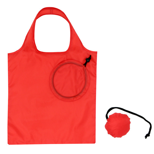 Round Shape Foldable Polyester Shopping Bag