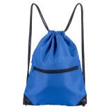 HOLYLUCK Men & Women Sport Gym Sack Drawstring Backpack Bag bright royal