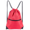 HOLYLUCK Men & Women Sport Gym Sack Drawstring Backpack Bag red, DHL free shipping to USA