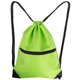 HOLYLUCK Men & Women Sport Gym Sack Drawstring Backpack Bag green
