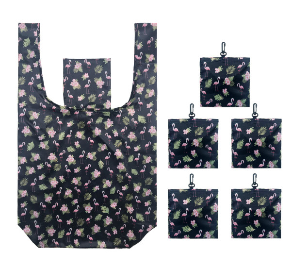 Grocery Bags Reusable Foldable Shopping Bags Polyester Reusable Shopping Bags,Washable, Durable and Lightweight