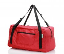 Free shipping HOLYLUCK Foldable Travel Duffel Bag For Women & Men Luggage Great for Gym (Red)