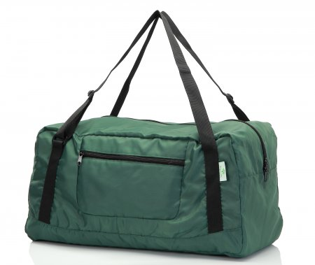 Free shipping HOLYLUCK Foldable Travel Duffel Bag For Women & Men Luggage Great for Gym (Army Green)