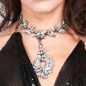 Alloy multifunctional necklace