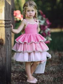 Gradual coloured Sling Dress