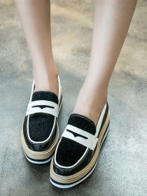 Round head casual shoes