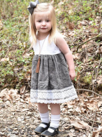 Pleated Dress waistcoat skirt
