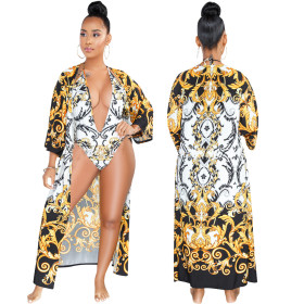 Sexy Printing Two-piece Set
