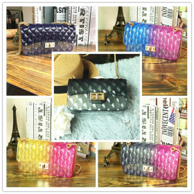 Jelly Chain Pack Gradient Colour Slant Pack
