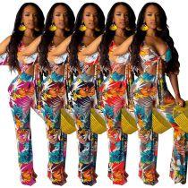 Sexy fashion printed pants