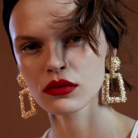 Fashion Geometry Alloy Earrings