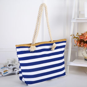 Striped shopping bags  Environmental Bag Beach Bag