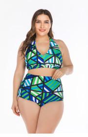 Big Bikini Bikini fat woman gathers big cup ladies swimsuit and swimsuit Onihua