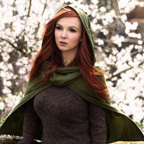 Diablo Palace Wind Halloween Witch Cloak Retro Cap Street Trendsetter Sleeveless Coat