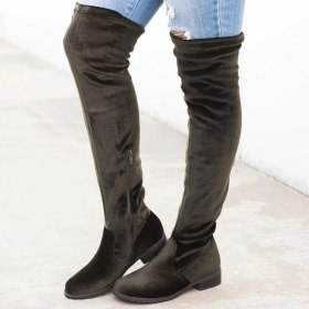 2019 New Over-the-knee Boots Sexy Knee-high Boots Female Winter Shoes Warm Women Winter Boots Women's Boots Plus Size 43
