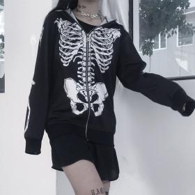Diablo Skull, Whole Body Printed Individual Girl Hat Guard