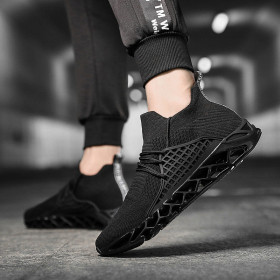 Low top casual men's shoes Korean Trend running shoes fashion wear-resistant outdoor sports shoes