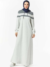 Comfortable Arabian women's sweater hooded pocket panel casual long skirt (excluding headscarf) Report The purchase of this product belongs to commercial trade