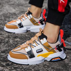 Men Mesh Sneakers Footwear Shoes Casual-Shoes Walking Running Shoes Designer Breathable Tenis Masculino JD-KD111