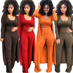 High crater strip three piece suit Tight Sexy nightclub women's wear