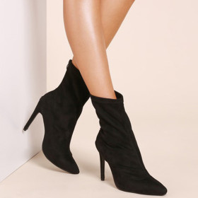 Sexy thin heel Suede Boots
