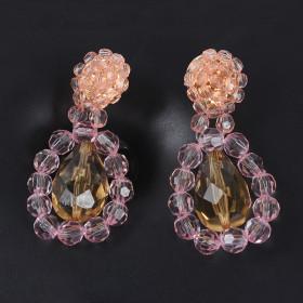 New fashion flower pendant earrings same resin quality party Earrings