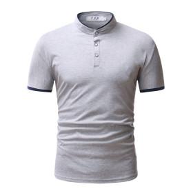 Fashion small square neck T-shirt solid