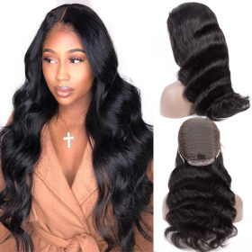Cynosure 13x4 Lace Front Human Hair Wigs Pre Plucked Brazilian Body Wave 13x4 Lace Frontal Wig with Baby Hair Human Hair Wigs