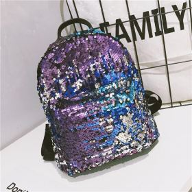Women Mini Shining Sequins Backpacks Teenage Girls Travel Large Capacity Bags Portable Party School Bags Shoulder Bag for Lady