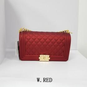 Clear Transparent PVC Women Messenger Bag Luxury Female Bag Designer Jelly Purse Leather Handbag Sac A Main Femme Candy Purse