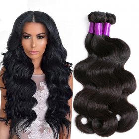 Brazilian real hair making hair curtains body wave