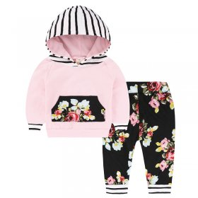Baby prints sweater chest pocket suit