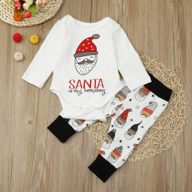 Baby Christmas suits + trousers 2 sets