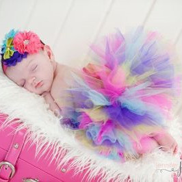 Children's photo studio shooting props + colorful head wear