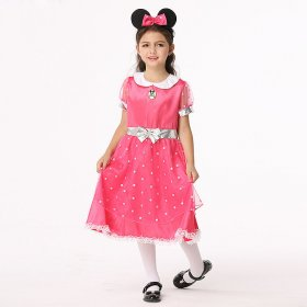 Minnie girl Mickey cartoon Costume