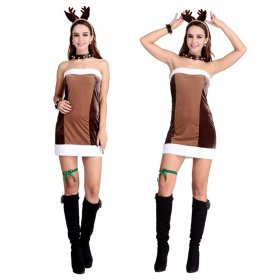 Christmas cute Reindeer Christmas Dress