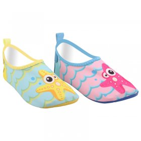 Children's cartoon printing water skiing shoes, beach shoes