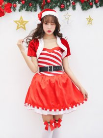 Christmas dress with sweet