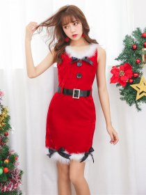 Sleeveless Christmas dresses
