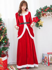 Long sleeved dress for Christmas clothes