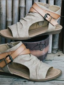 Spring and summer large size women's Rome sandals