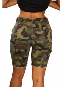 Camouflage cowboy beach shorts